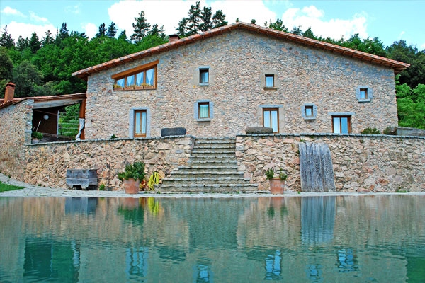 Style and luxury - finca within the Montseny...